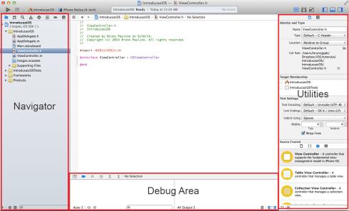 Visão geral do Xcode