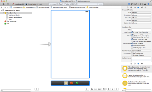 Interface Builder do Xcode